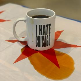 Laura Jane Grace 'I Hate Chicago' Coffee Mug