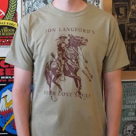 Jon Langford's Four Lost Souls T-Shirt