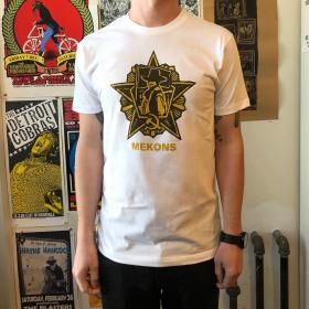 Mekons 'Deserted' Badge T-shirt