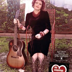 "Exene Cervenka ""Excitement of Maybe"" Poster"