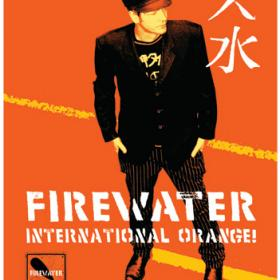 "Firewater ""International Orange"" Poster"