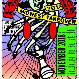Laura Jane Grace & the Devouring Mothers Chicago Takeover Ticket