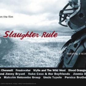 """Slaughter Rule"" Poster"