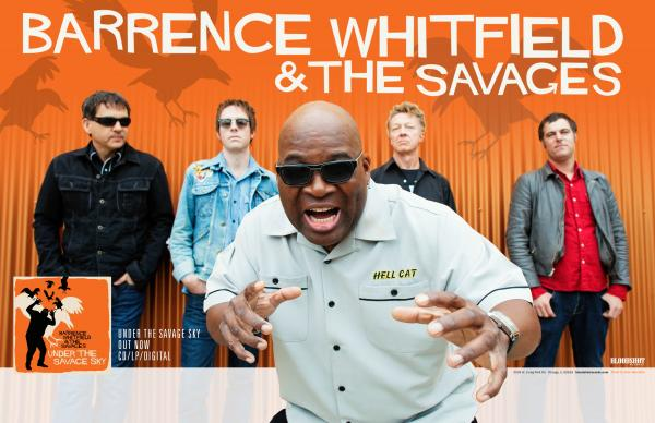 Barrence Whitfield and the Savages Under the Savage Sky Poster