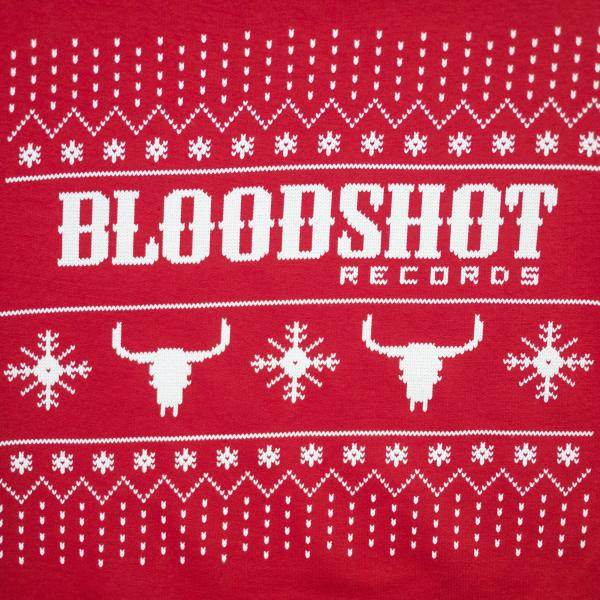 Bloodshot Holiday Christmas Sweater