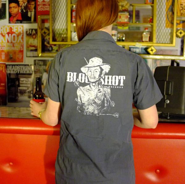 Bloodshot Records workshirt work shirt