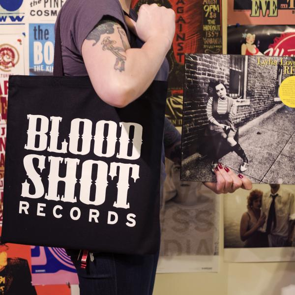 Bloodshot Records Canvas Tote Bag