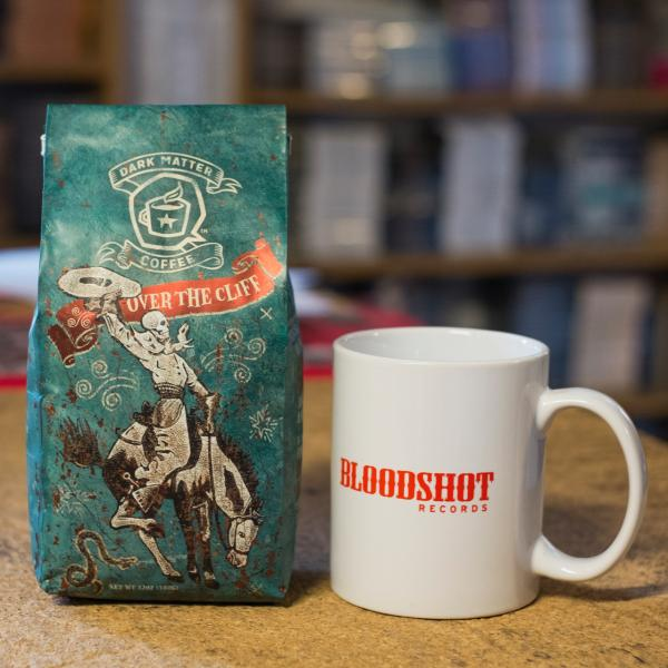 Dark Matter Bloodshot Records Over the Cliff Coffee Mug