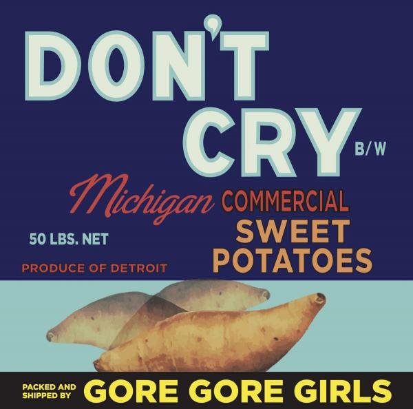 "Gore Gore Girls Dont Cry 7"" Single"