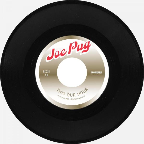 """Joe Pug This Our Hour Bloodshot Six Pack to Go 7"""" Single"""