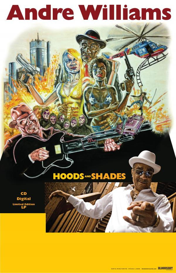 Andre Williams Hoods Shades Poster