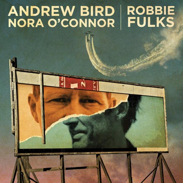 """Andrew Bird Nora O'Connor Robbie Fulks I'll Trade You Money For Wine Core and Rind 7"""" single vinyl"""