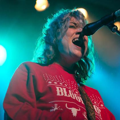 Lydia Loveless Bloodshot Holiday Sweater