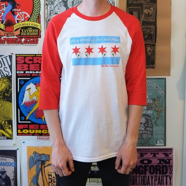 The Flat Five Jersey Red