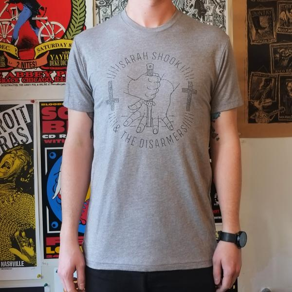 Sarah Shook and the Disarmers T-shirt knife