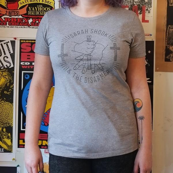 Sarah Shook and the Disarmers Knife T-shirt