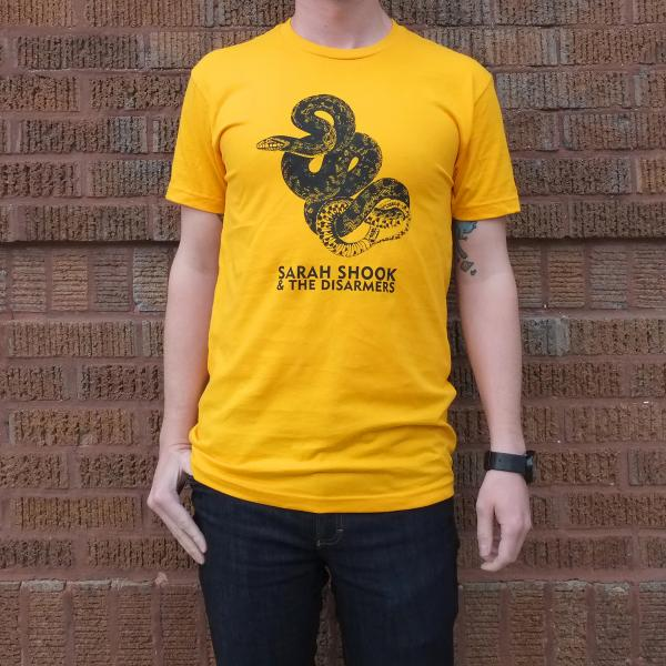Sarah Shook and the Disarmers Snake T Shirt