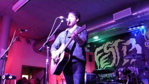 Chuck Ragan // Survivor Blues (Cory Branan Cover) // 01-11-2014 Fest 13 Gainesville