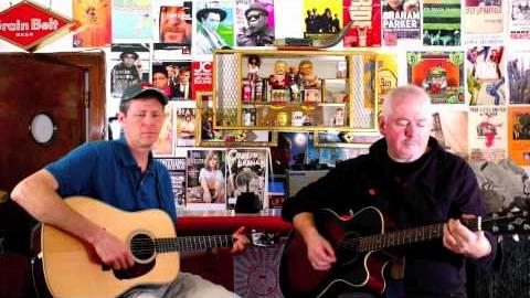 "Robbie Fulks & Jon Langford ""Yesterday's Wine"" (Willie Nelson Cover) Live at BSHQ"