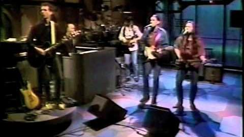 "The Silos ""I'm Over You"" David Letterman Show (1990)"