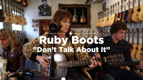 Ruby Boots - Don't Talk About It - CME Session - Bloodshot Records