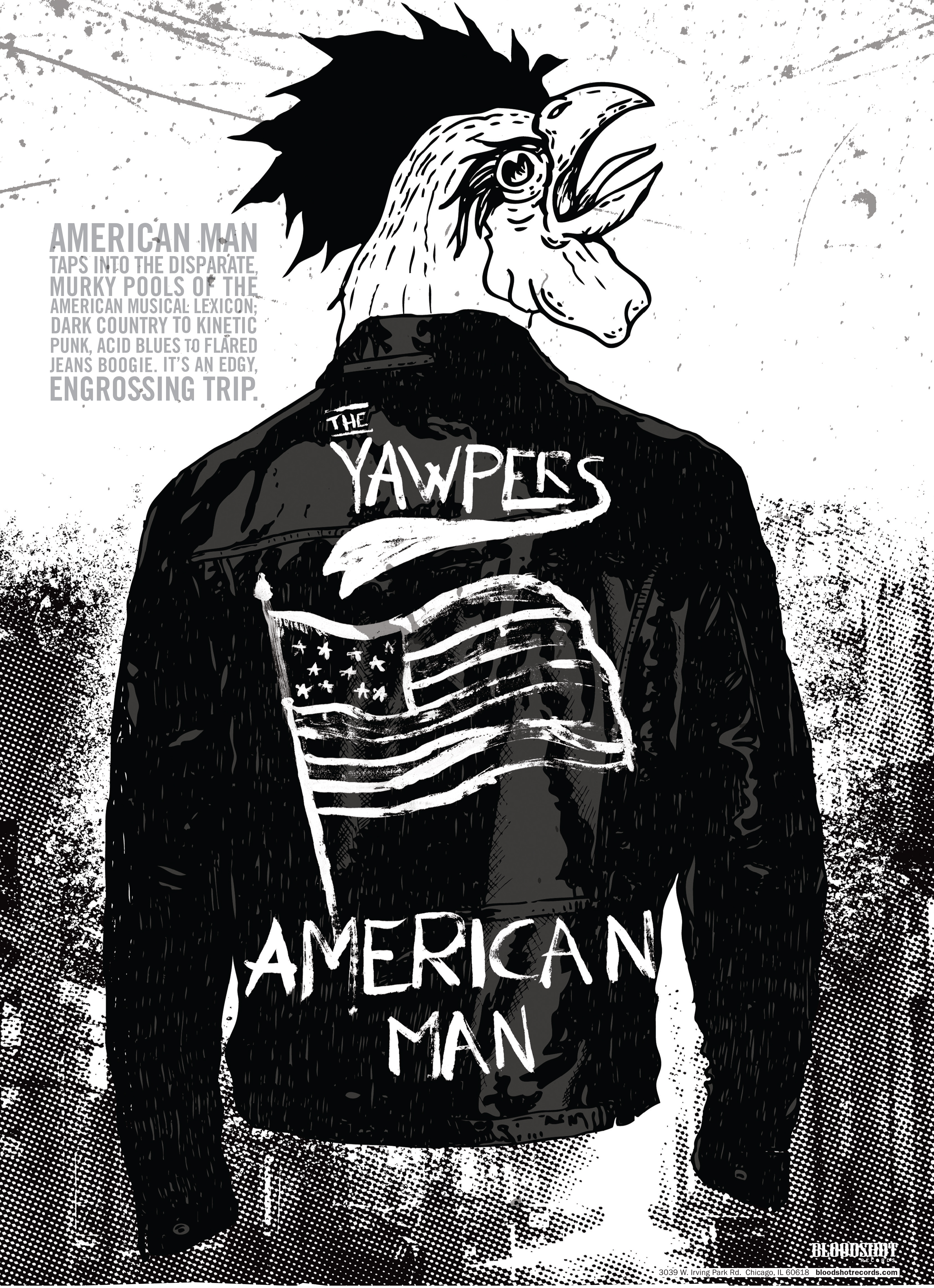 The Yawpers American Man Poster